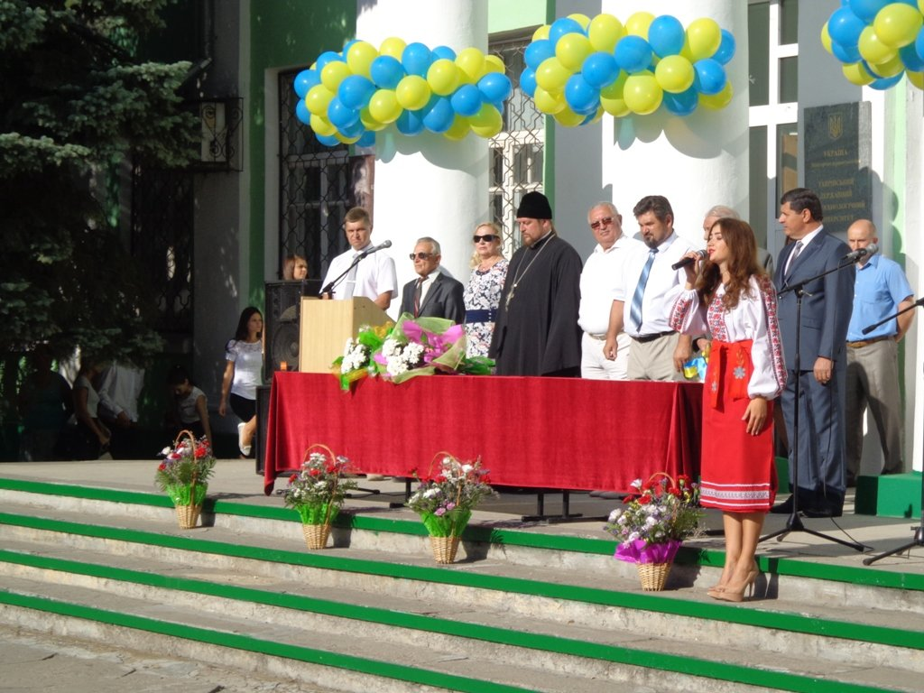 Торжественное мероприятие, по поводу Дня Знаний в ТГАТУ, посетил благочинный церквей города Мелитополя протоиерей Максим Смирнов.  (31.08.2015)