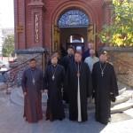 В храме во имя вмч. Георгия Победоносца прошло очередное заседание Мелитопольского благочиния (17.09.2015)