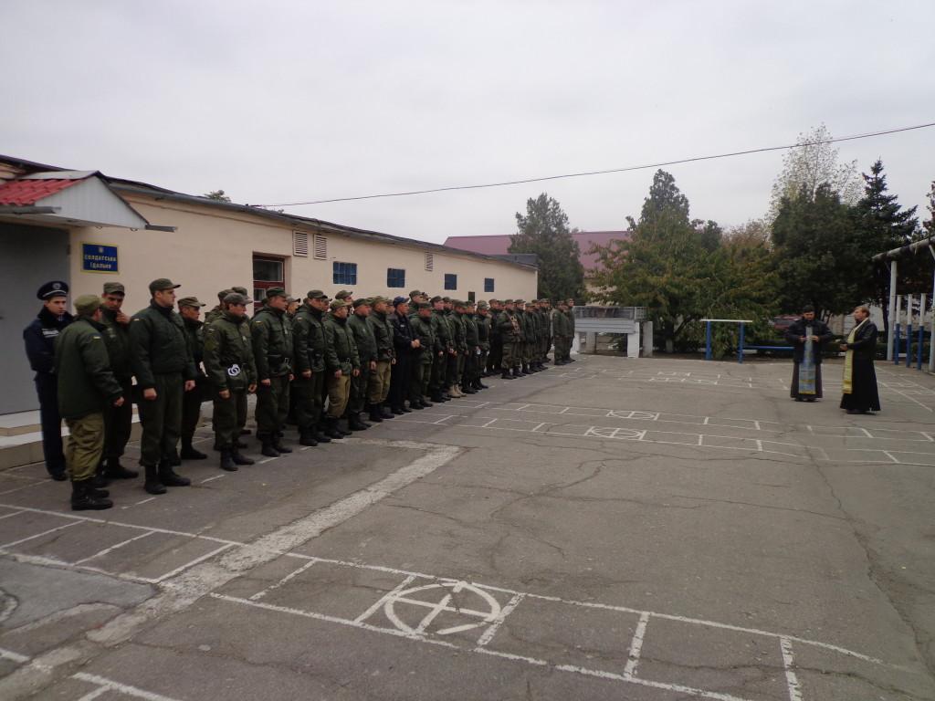 Поздравление военных с днем Защитника Отечества и Покрова Пресвятой Богородицы. (14.10.2015)