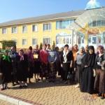 Мелитопольские паломники посетили Свято-Елисаветенский женский монастырь пгт. Камышеваха. (04.10.2015)