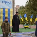 Священник посетил мероприятие посвященное Дню Защитника Отечества. (14.10.2015)