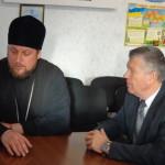 Благочинный церквей города Мелитополя протоиерей Максим Смирнов принял участие в круглом столе (02.12.2015)