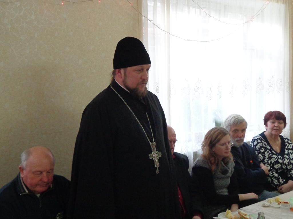 Благочинный на собрании краеведов (27.12.2015)