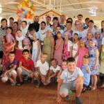 Первый православный лагерь в Мелитополе завершил свою работу (01.07.2016)