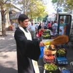 Освящение плодов на городской ярмарке (19.08.2016)