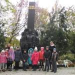 «Прорыв немецкой обороны на р. Молочной» увидели дети воскресной школы монастыря в День освобождения Мелитополя (23.10.2016)
