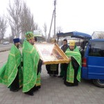 Встреча мелитопольцами Казацкой иконы Божьей Матери (19.11.2016)