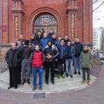 Спортсмены из Грузии и Литвы посетили святыни Мелитополя. (26.01.2017)