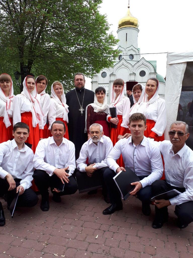 Мелитопольский церковный хор принял участие во всеукраинском пасхальном песенном фестивале. (13.05.2017)