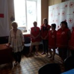 Благочинный принял участие в мероприятии, посвящённом 3 –ей годовщине открытия Мелитопольского центра переселенцев.