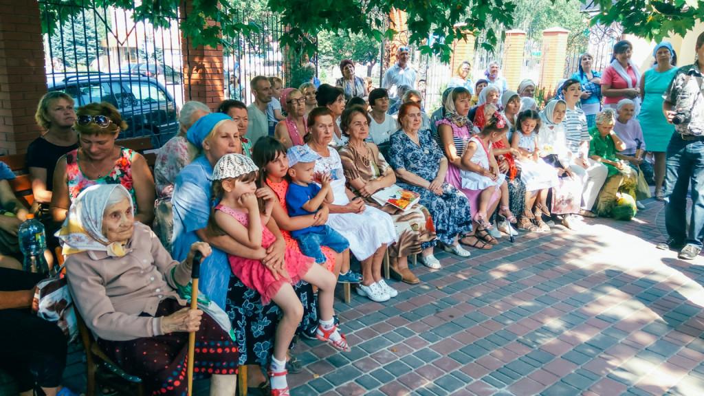 День православной бабушки в храме святого вмч. Георгия Победоносца. (23.07.2017)
