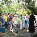Благочинный и студенты третьего поколения посетили Терпеньевский источник.