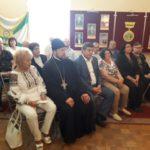 Благочинный города Мелитополя посетил день памяти покойного мера города Дмитрия Сычева (05.09.2017)
