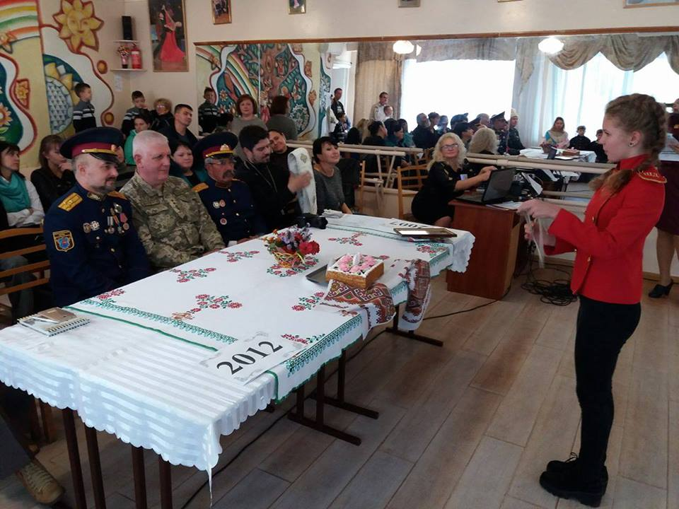 Священник Мелитопольского благочиния посетил торжественное мероприятие посвященное 10 - летию школы Джур.