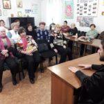 Мелитопольский священник провел занятие в терцентре.