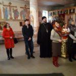 Благочинный церквей города Мелитополя провел беседу условно осуждёнными подростками и их кураторами. (03.01.2018)