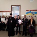 Благочинный церквей города Мелитополя поздравил руководителей города с Рождеством Христовым.