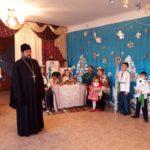 Благочинный церквей города Мелитополя поздравил детей с Рождеством Христовым