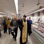 Благочинный церквей города Мелитополя поздравил горожан с праздником Крещения Господня.