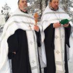 Мелитопольские священники отслужили Божественную Литургию и освятили воду Великим освящением (21.01.2018)
