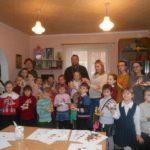 Благочинный Мелитополя поздравил детей воскресной школы «Георгиевцы» с Рождеством Христовым