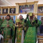 В Мелитополе поздравили благочинного с днем ангела. (03.02.2018)
