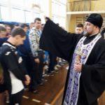 Благочинный церквей города Мелитополя посетил турнир по волейболу. (17.03.2018)