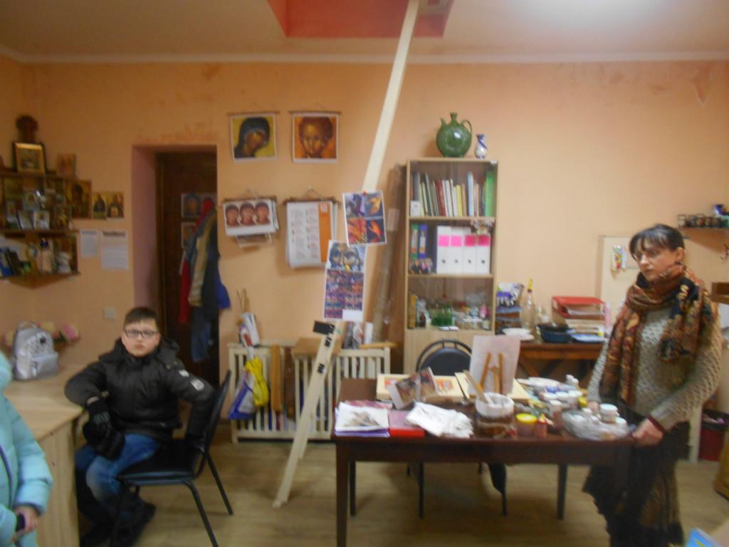 Экскурсия «Георгиевцев» в иконописную школу