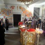 В Мелитопольском храме св. вмч. Георгия Победоносца, для участников городского территориального центра было совершено таинство Соборования.