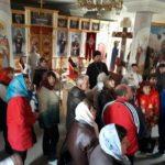 В Мелитополе для участников общества инвалидов прошла экскурсия по храмам города.