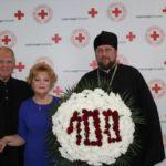 Благочинный Мелитополя поздравил сотрудников Красного Креста с юбилейной датой.