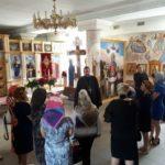 Благочинный церквей города Мелитополя провел беседу с участниками форума- презентации