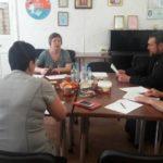 Благочинный Мелитополя участвовал в круглом столе городского терцентра.