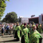 В Мелитополе прошел Крестный ход в день Святого Духа.
