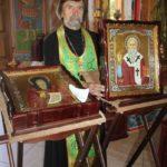 В Мелитополе встретили 10 святынь.