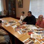 В Мелитопольской школе иконописи Зограф прошли годовые экзамены.