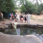 В Мелитополе студенты третьего поколения посетили терпеньевские источники.