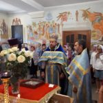 В храмах Мелитополя были отслужены молебны о мире в Украине.