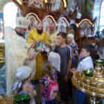 В храмах Мелитопольского благочиния прочли молебны перед началом учебного года.