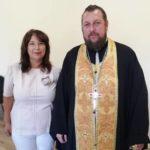 Благочинный Мелитополя освятил городское общество инвалидов.