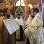 В Мелитополе соборно помолились священнослужители и миряне о мире в Украине и предстоятеле митрополите Онуфрии.