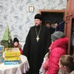 Воспитанники Мелитопольского интерната № 1 и детского приюта получили сладкие подарки от священнослужителей Мелитопольского благочиния.