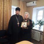Благочинный города о. Максим провел духовную беседу в Мелитопольском терцентре