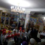Воспитанники воскресной школы «Георгиевцы» Мелитопольского благочиния поздравили прихожан Святогеоргиевского храма с днём Святого Николая