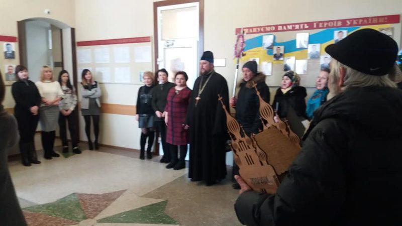 Рождественские колядки в Мелитополе.