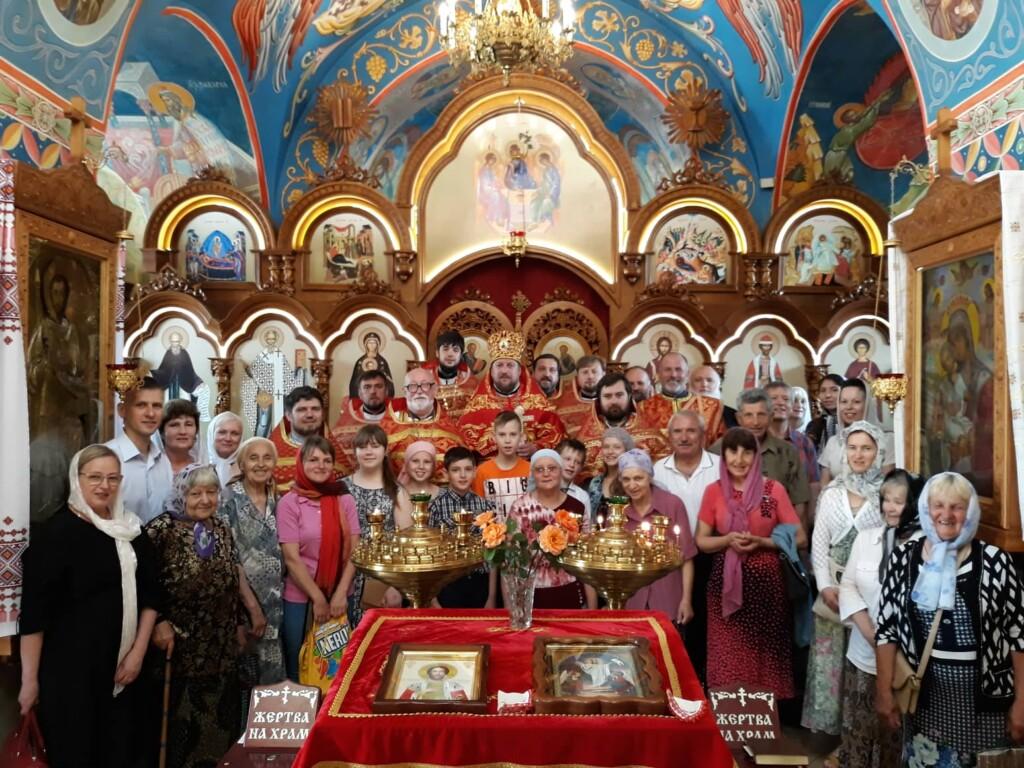В Мелитополе прошла традиционная соборная служба о мире в Украине.