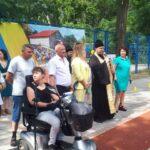 В Мелитополе благочинный благословил начало Спартакиады людей с инвалидностью