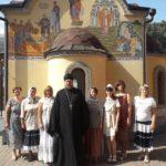 В Мелитополе учащиеся школы иконописи Зограф сдали выпускные экзамены.