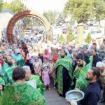 В Мелитополе состоялся традиционный Крестный ход в день Святого Духа.