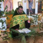 В Швеции Мелитопольским благочинным было отслужено торжественное богослужение в день Святой Троицы.